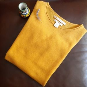 Max Studio 2-Ply Crewneck Cashmere Sweater